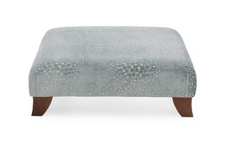 Patterned Footstool