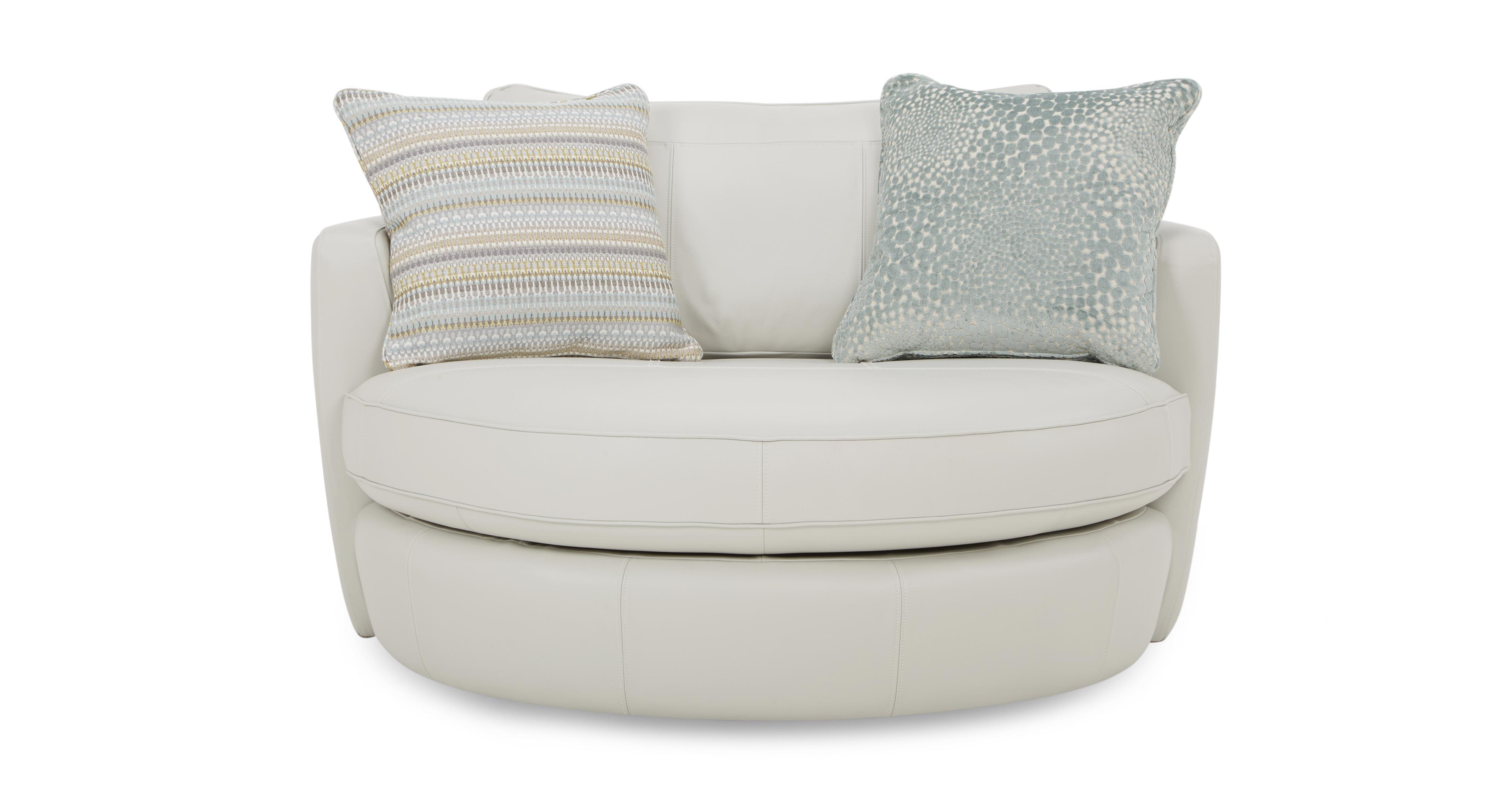 Sophia leather cuddler swivel chair dfs - Sophia Leather Cuddler Swivel Chair Dfs