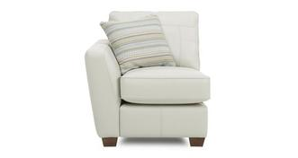 Sophia Leather Left Arm Facing 1 Seater Unit