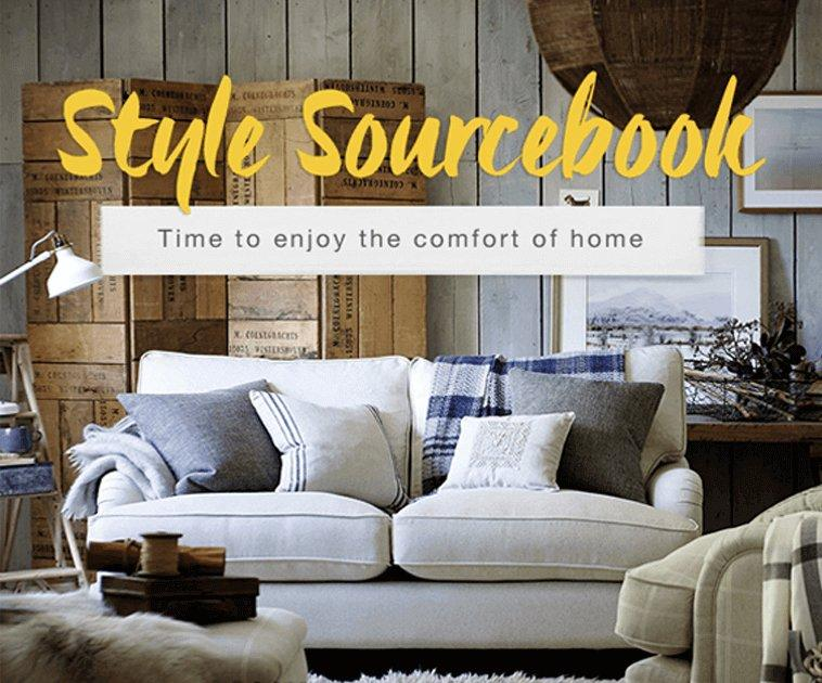 Style Sourcebook - Time to enjoy the comfort of home
