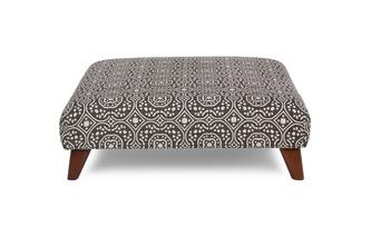 Patterned Footstool Spencer