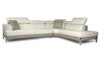 Left Arm Facing Large Corner Sofa New Club