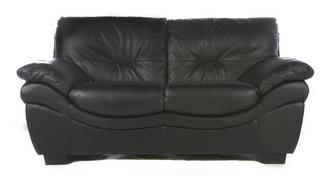 Status Leather and Leather Look 2 Seater Sofa