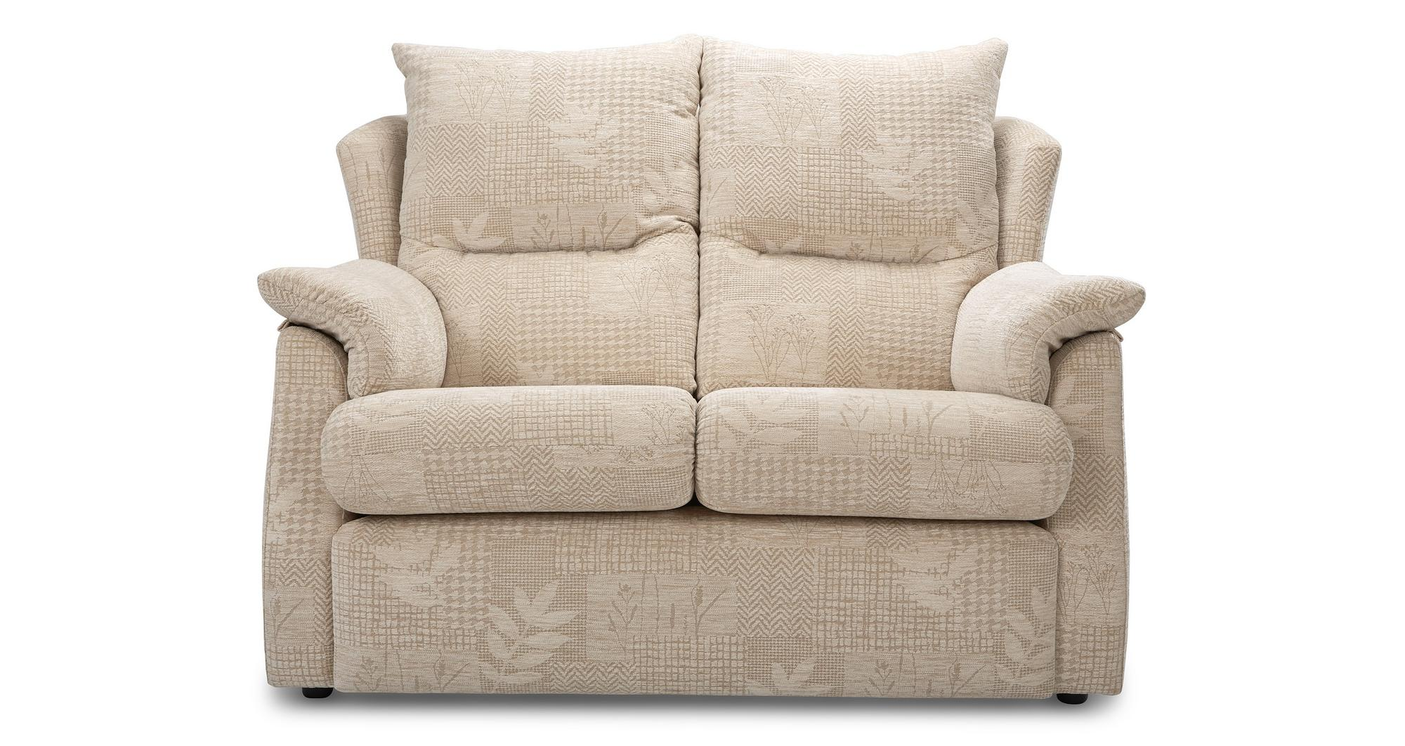 dfs stow cream fabric small 2 seater sofa and manual. Black Bedroom Furniture Sets. Home Design Ideas