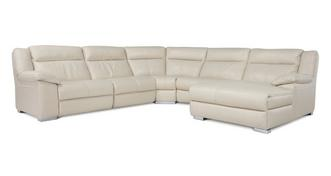 Swift Right Hand Facing Manual Chaise Corner Sofa