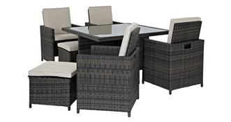 Tampa Deluxe Table & 8 Seats