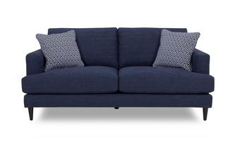 Plain and Pattern Large Sofa Tate Plain and Pattern