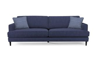 Plain and Pattern Extra Large Sofa Tate Plain and Pattern