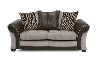 Large 2  Seater Pillow Back Sofa Eternity