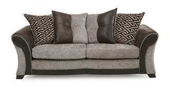 Theo 3 Seater Pillow Back Sofa