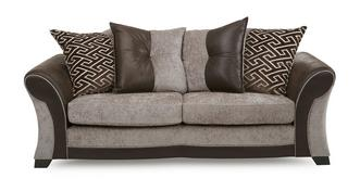 Theo 3 Seater Pillow Back Deluxe Sofa Bed
