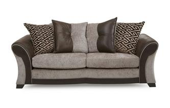 3 Seater Pillow Back Deluxe Sofa Bed Eternity