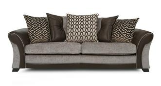 Theo 4 Seater Pillow Back Sofa