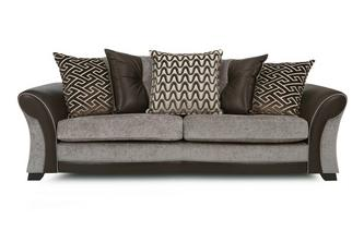 4 Seater Pillow Back Sofa Eternity
