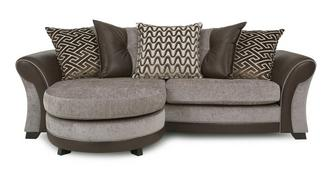 Theo 4 Seater Pillow Back Lounger