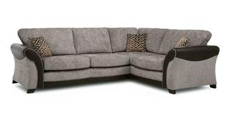 Theo Left Hand Facing Formal Back 3 Seater Corner Sofa