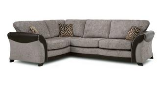 Theo Right Hand Facing Formal Back 3 Seater Corner Sofa