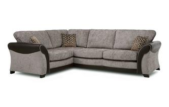 Right Hand Facing Formal Back 3 Seater Corner Sofa Eternity
