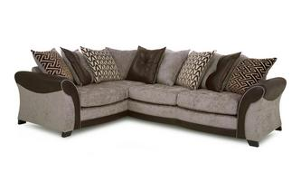 Right Hand Facing Pillow Back 3 Seater Corner Sofa Eternity