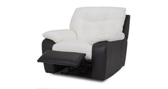 Thrive Leather and Leather Look Manual Recliner Chair