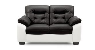 Thrive Leather and Leather Look 2 Seater Sofa