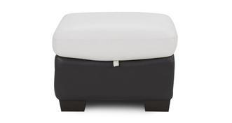 Thrive Leather and Leather Look Storage Footstool