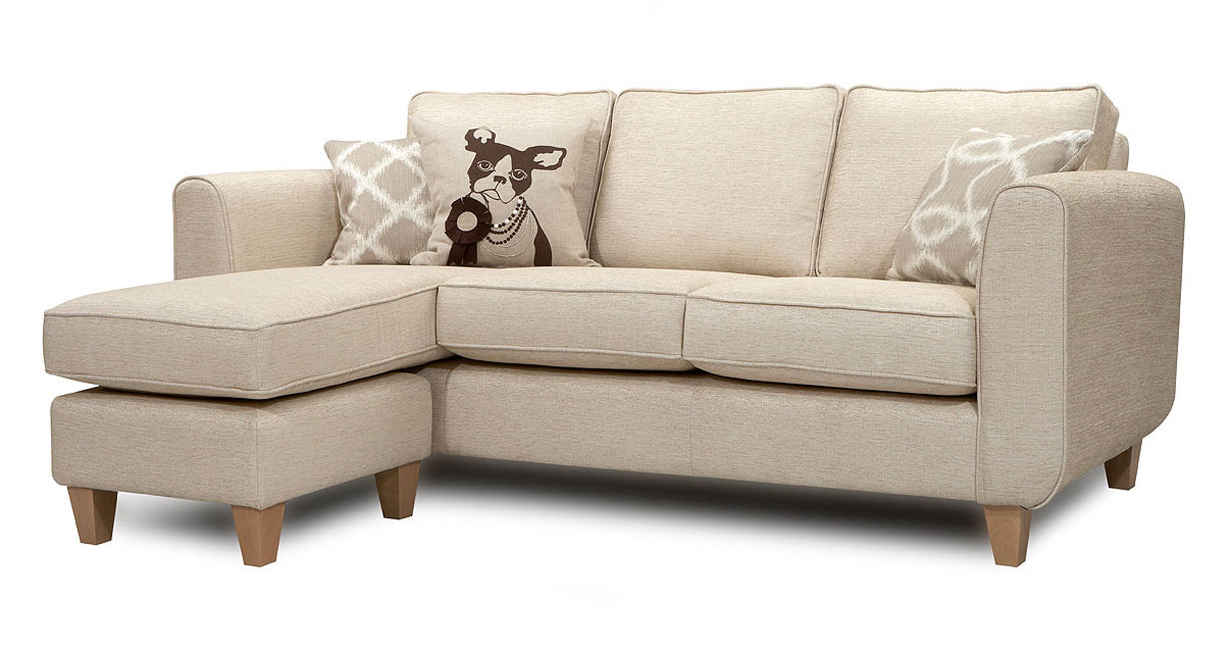 Dfs tote natural fabric set inc chaise sofa arm chair for Chaise watford