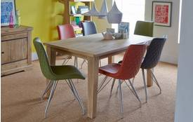 Toulouse Small Fixed Table & Set of 4 Maia Chairs Toulouse