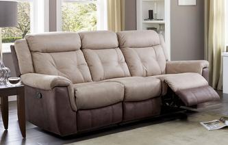 Toward 3 Seater Manual Recliner Arizona