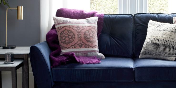 Traditional Velvet Sofas