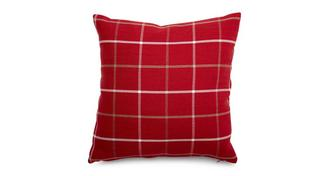 Tranquil Plain Check Scatter Cushion