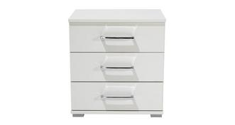 Trend 3 Drawer Bedside Table