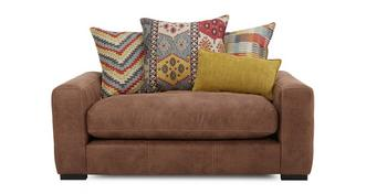 Turin Pillow Back Cuddler Sofa
