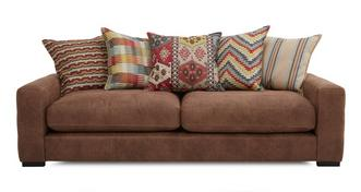 Turin 4 Seater Pillow Back Sofa