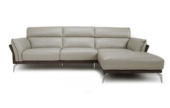 Right Hand Facing Chaise End Sofa Valdez Showroom