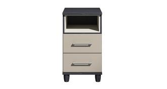 Varley 2 Drawer Chest with Shelf