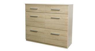 Venetian 6 Drawer Chest