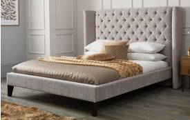 Viscount Double (4 ft 6) Bedframe Royale Crush