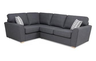 Right Hand Facing 2 Seater Corner Sofa Revive