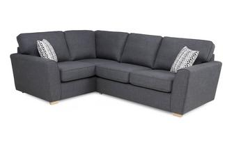 Right Hand Facing 2 Seater Corner Sofabed Revive