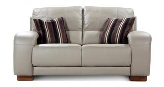 Vogue Leather and Leather Look 2 Seater Sofa