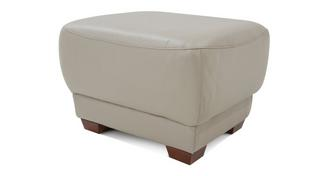 Vogue Leather and Leather Look Footstool