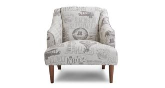 Voyage Pattern Accent Chair