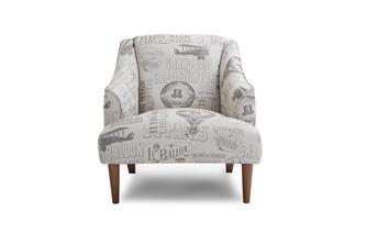 Pattern Accent Chair Voyage