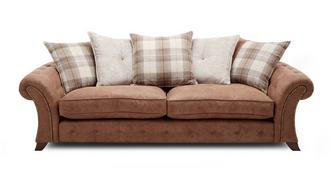 Woodland 4 Seater Pillow Back Sofa