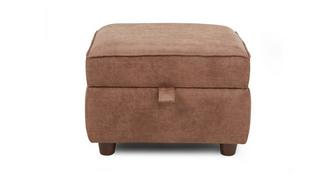 Woodland Plain Storage Footstool