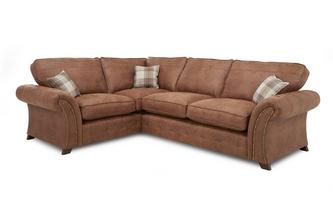 Right Hand Facing 3 Seater Formal Back Corner Sofa Oakland