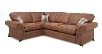 Woodland Right Hand Facing 3 Seater Formal Back Corner Deluxe Sofa Bed