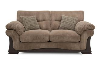 Large 2 Seater Sofa Wyndham Rib