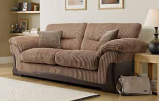 Wyndham Large 2 Seater Sofa Bed Wyndham Rib